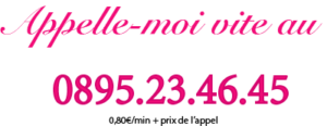 Numero téléphone rose