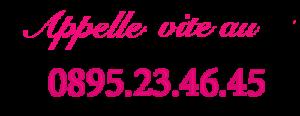 Numéro téléphone rose